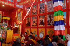 Inauguration of the first Tibetan Buddhist temple in the southern Indian Ocean