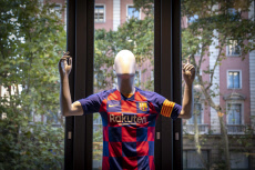 New club store in Barcelona, Spain - 04 Sept 2019
