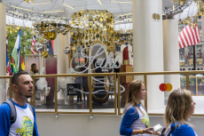 Saks Fifth Avenue 95th anniversary promotion in New York