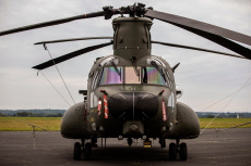 Chinook at RAF Odiham, Hampshire, UK - 24 June 2019