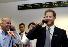 Prince Harry attends the BGC Charity Day