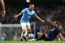 Man City Legends v Premier League All-Stars, Vincent Kompany Testimonial Match, Football, Etihad Stadium, Manchester, UK - 11 Sep 2019