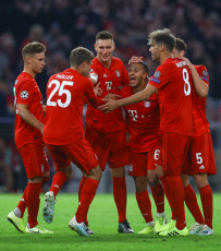 Bayern Munich v Red Star Belgrade, UEFA Champions League, Group B, Football, Allianz Arena, Germany - 18 Sep 2019