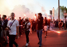 Paris: Ambiance avant le match PSG-Real