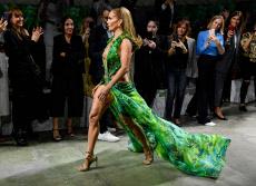 Versace show, Runway, Spring Summer 2020, Milan Fashion Week, Italy - 20 Sep 2019