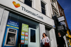 Thomas Cook Airlines crisis, London, UK - 23 Sep 2019
