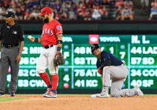 MLB Red Sox vs Rangers, Arlington, USA - 24 Sep 2019