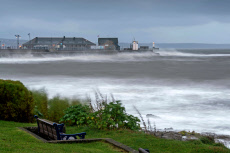 Seasonal weather, Porthcawl, Wales, UK - 29 Sep 2019