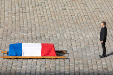 Chirac Funeral - Invalides