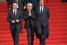 Chirac Funeral- Claude Chirac and relatives