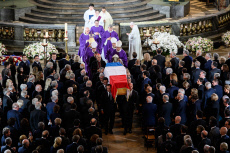 Chirac Funeral- Saint Sulpice