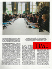 Parution 2019: Time Magazine 16 Septembre 2019