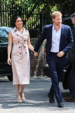 Prince Harry and Meghan's Royal Tour of South Africa: Meeting with Graca Machel