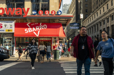 Sbarro pizza chain