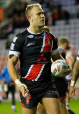 Wigan Warriors v Salford Red Devils, Betfred Super League, Play-Off Semi-Final, Rugby League, DW Stadium, UK - 04 Oct 2019