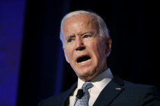 US Elections : Joe Biden at Labor Summit in Los Angeles