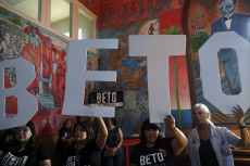 US Electtions : Beto OÕRourke Rally at Casa Del Mexicano in Los Angeles