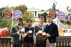 FC Bayern Munich attends Oktoberfest, Germany - 06 Oct 2019