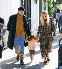 Evan Ross and Ashlee Simpson out and about, Los Angeles, USA - 06 Oct 2019