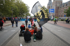 Netherlands: Extinction Rebellion climate Protest