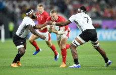 Wales v Fiji - Rugby World Cup - Pool D - 09 Oct 2019