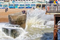 Seasonal weather, Brighton, UK - 09 Oct 2019