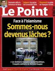 Parution 2019: Le Point du 10 Octobre 2019