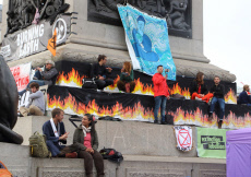 Climate Emergency Protest in London, UK - 10 Oct 2019