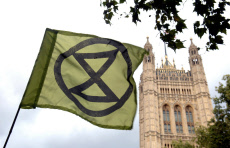 Extinction Rebellion Protest, London, UK - 11 Oct 2019
