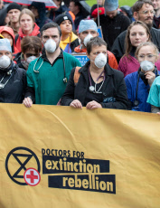 Extinction Rebellion Protest, London, UK - 12 Oct 2019
