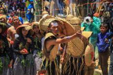 Tomato War Tradition in Lembang, Indonesia - 13 Oct 2019
