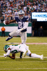 NFL Cowboys vs Jets, East Rutherford, USA - 13 Oct 2019