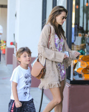 Alessandra Ambrosio out and about, Los Angeles, USA - 13 Oct 2019