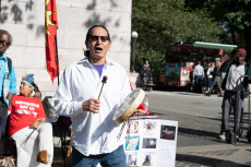 Indigenous Day of Remembrance, New York, USA - 13 Oct 2019