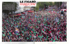 Parution 2019: Le Figaro Magazine 11 Octobre 2019
