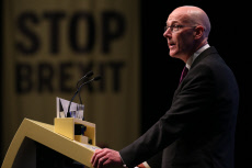 SNP Annual National Conference 2019 - Day 2, The Event Complex Aberdeen (TECA), Aberdeen, Scotland, UK - 14 October 2019