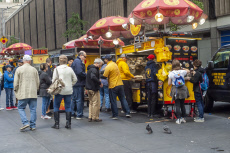 Halal Guys popular food cart