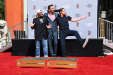 Kevin Smith and Jason Mewes honored with Hand and Footprint Ceremony, Los Angeles, USA - 14 Oct 2019