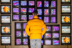 Nam June Paik exhibtion at the Tate Modern, London, UK - 15 Oct 2019