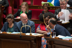 Paris: Weekly session of questions to the government at the national Assembly