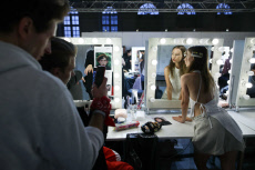 Russia: Mercedes-Benz Fashion Week Russia opens in Moscow