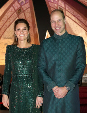 Prince William and Catherine Duchess of Cambridge visit to Pakistan - 15 Oct 2019