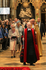 Royals attend a service to mark 750th Anniversary of the rebuilding of Westminster Abbey, London, UK - 15 Oct 2019