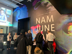 Paik Nam-june retrospective in London