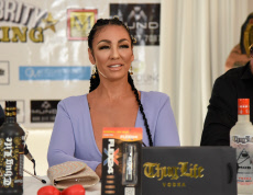 Celebrity Boxing Press Conference, Ocean Manor Beach Resort, Fort Lauderdale, USA - 15 Oct 2019