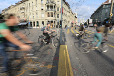 Swiss Cycling Traffic