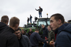 APTOPIX Netherlands Farmers Protest