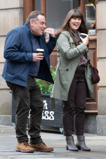 'Cold Feet' on set filming, Manchester, UK - 16 Oct 2019