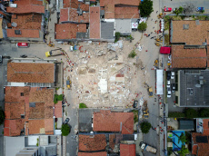 APTOPIX Brazil Building Collapse
