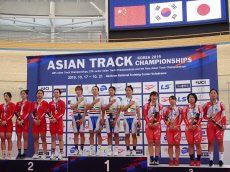 S. Korean women''s team wins gold in Asian Track